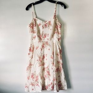 Old Navy Sakura Cherry Blossom Fit and Flare Dress